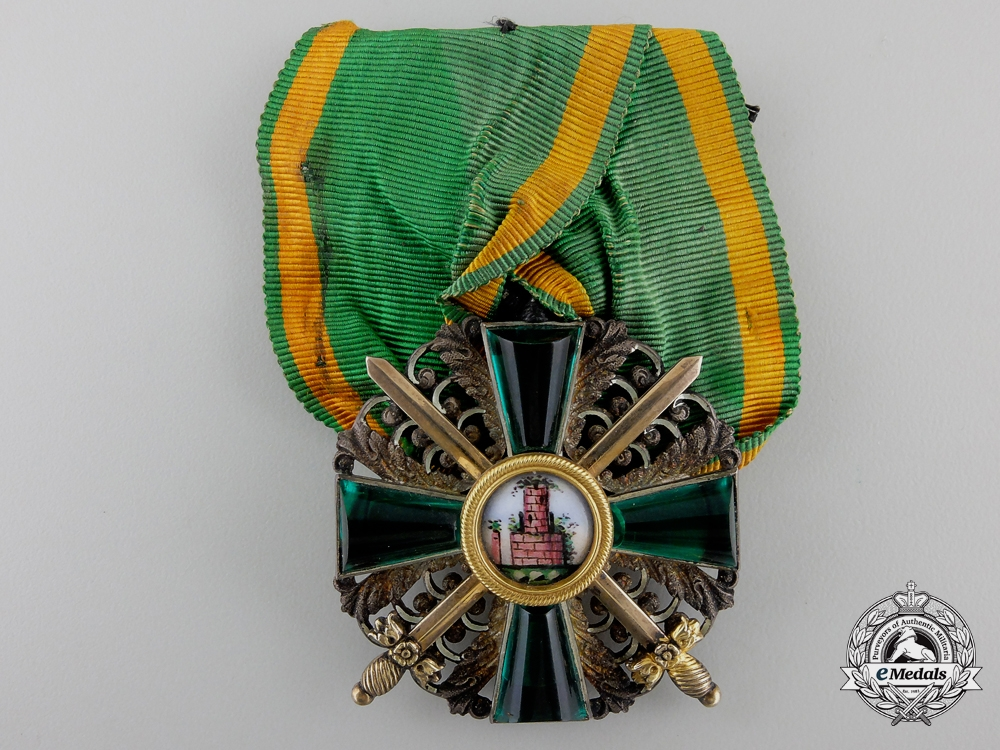 eMedals-A 1866-1918 Order of the Zahringer Lion; 2nd Class with Swords
