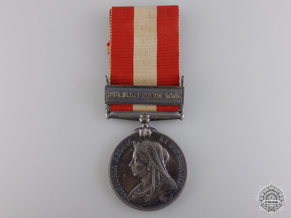 eMedals-1866-70 Canada General Service Medal to the 2nd Battalion