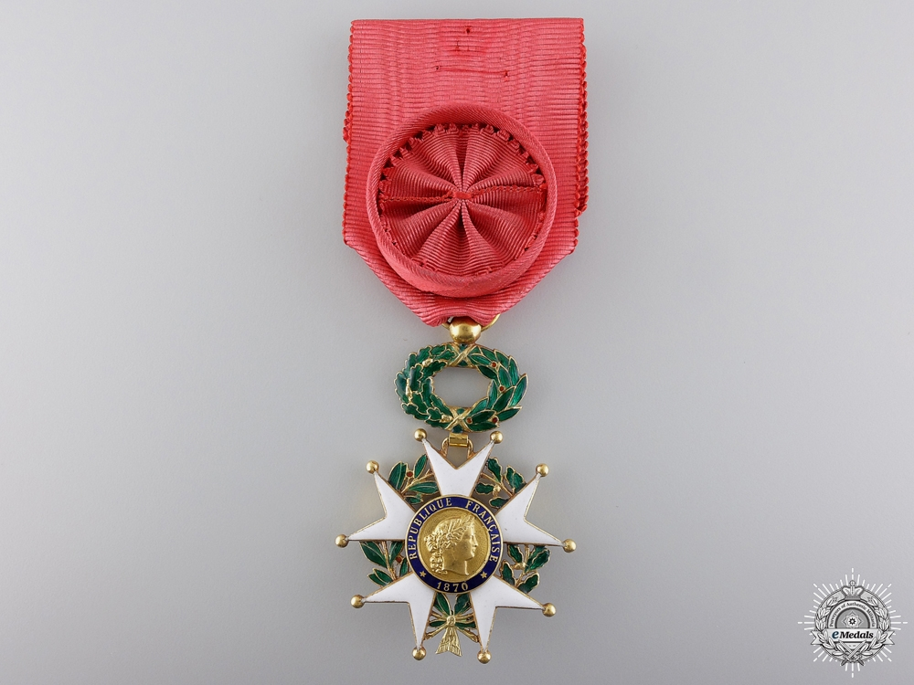 eMedals-A 1870-1951 French Legion D'Honneur in Gold; Type III