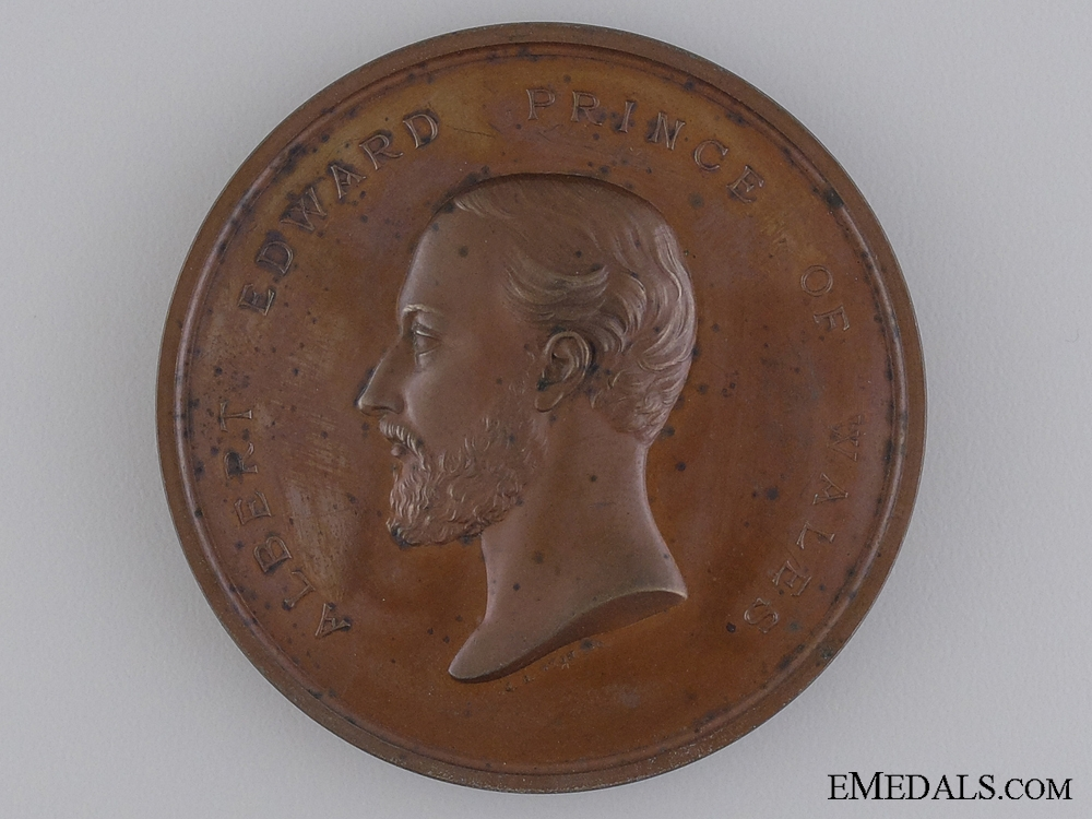eMedals-A 1872 Recovery of the Prince of Wales Medal