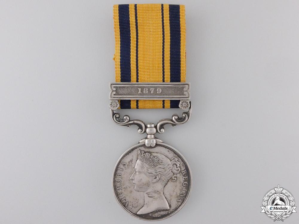 eMedals-A 1877-79 South Africa Medal to the  6th Brigade, Royal ArtilleryCon #41