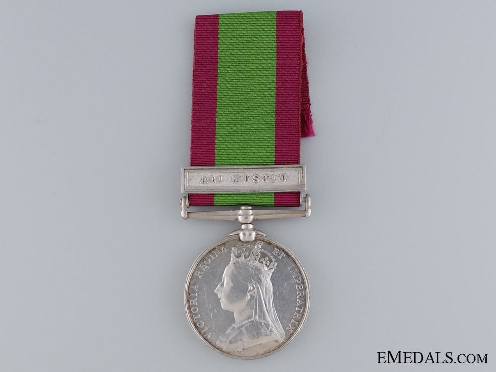 eMedals-A 1878-80 Afghanistan Medal to the 9th Lancers