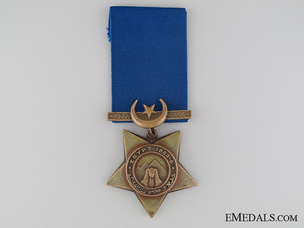 eMedals-A 1884-86 Khedive's Star