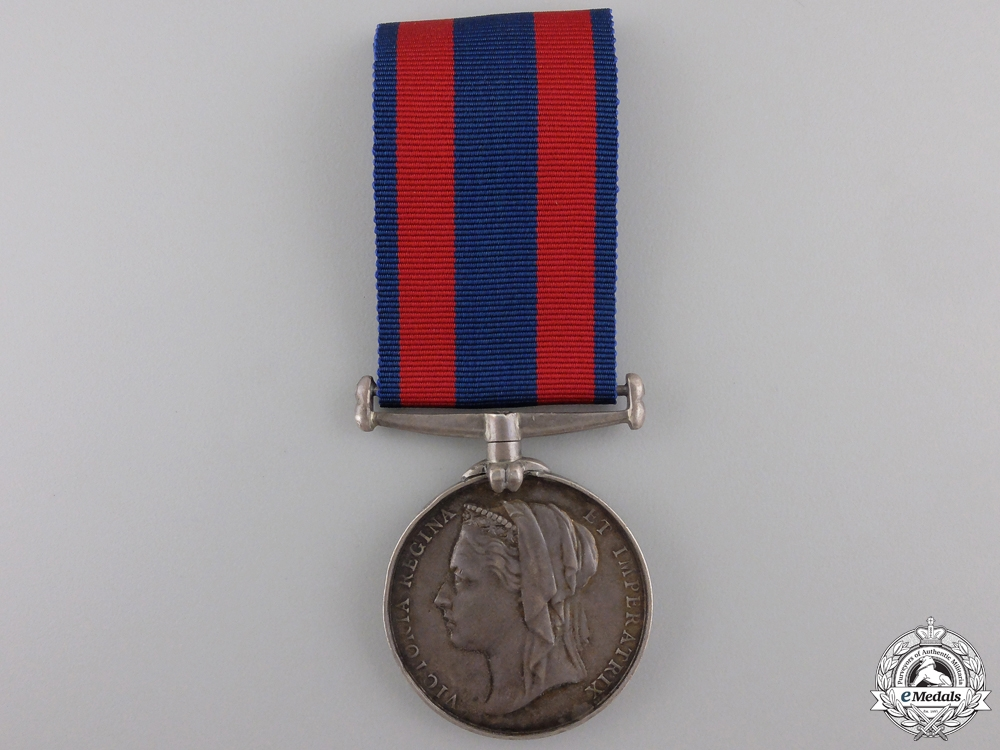 eMedals-A 1885 North West Canada Medal to the 65th Battalion