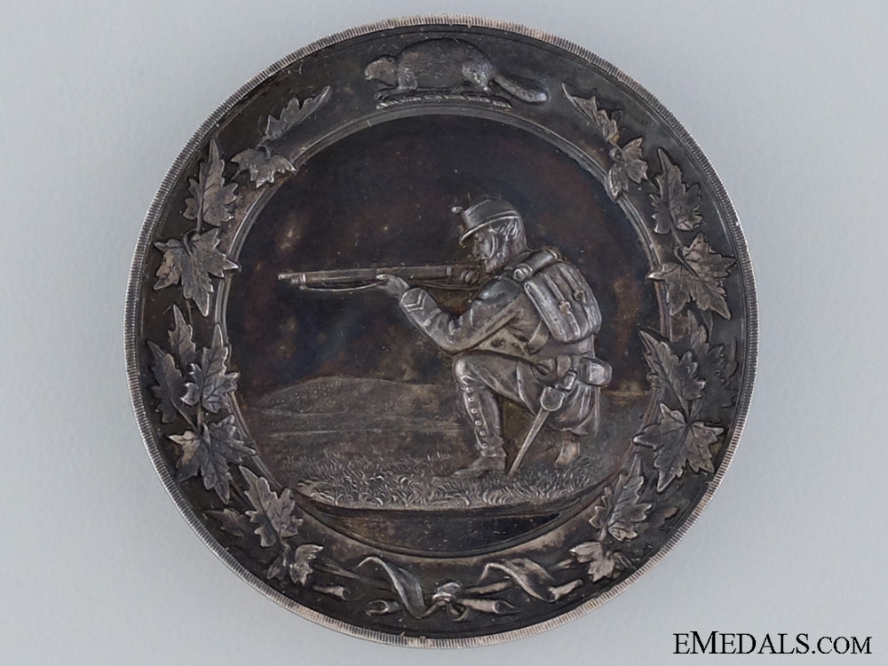 eMedals-A 1890 Ontario Rifle Association Shooting Medal