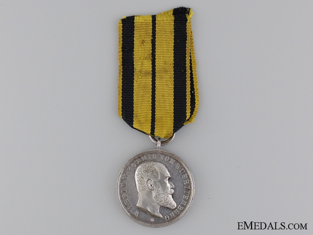 eMedals-A 1892-1918 Wurttemberg Military Merit Medal; Type V