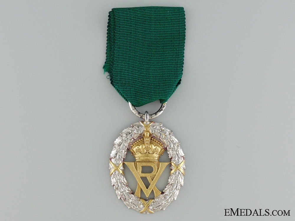 eMedals-A 1892 Volunteer Officer's Decoration