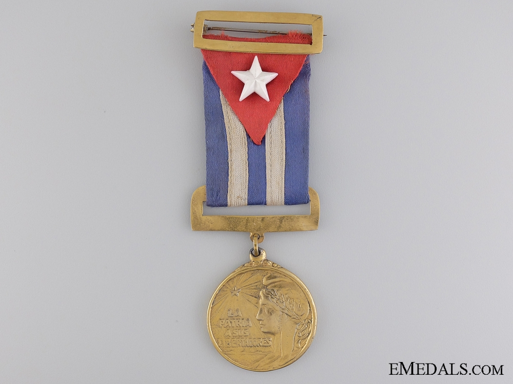 eMedals-A 1895-1898 Cuban Medal Independence Medal