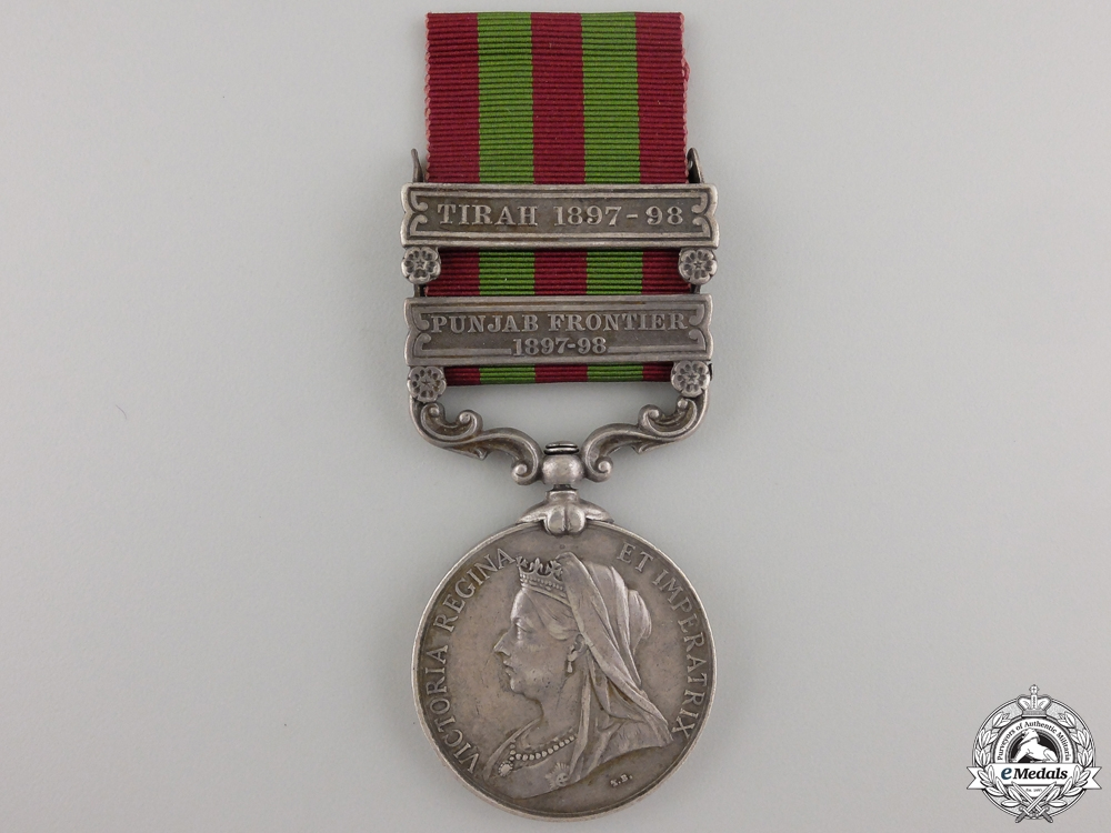 eMedals-A 1895-1902 India Medal to the Royal Artillery