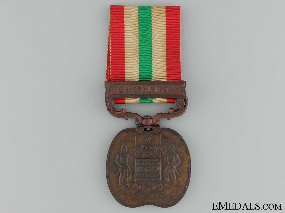eMedals-A 1895 Jummoo and Kashmir Medal