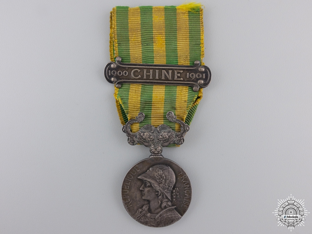 eMedals-France. A 1900-1901 China Campaign Medal; George Lemaire