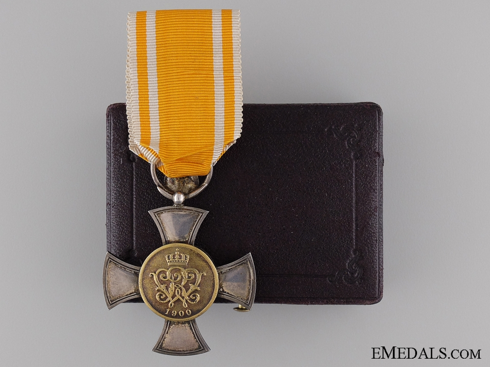 eMedals-A 1900-1918 Prussian General Service Honor Decoration with 50 Jubilee