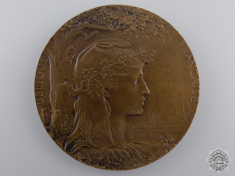 eMedals-A 1900 French Exposition Universelle Award Medal