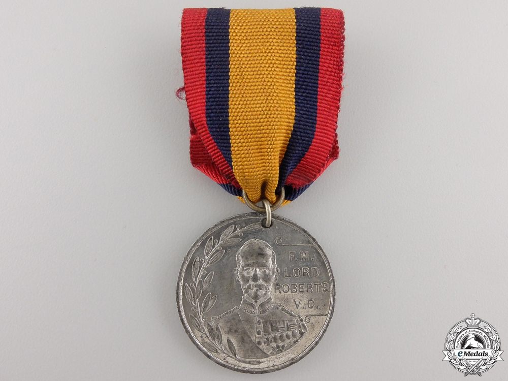 eMedals-A 1900 South African War Lord Roberts Pretoria Medal