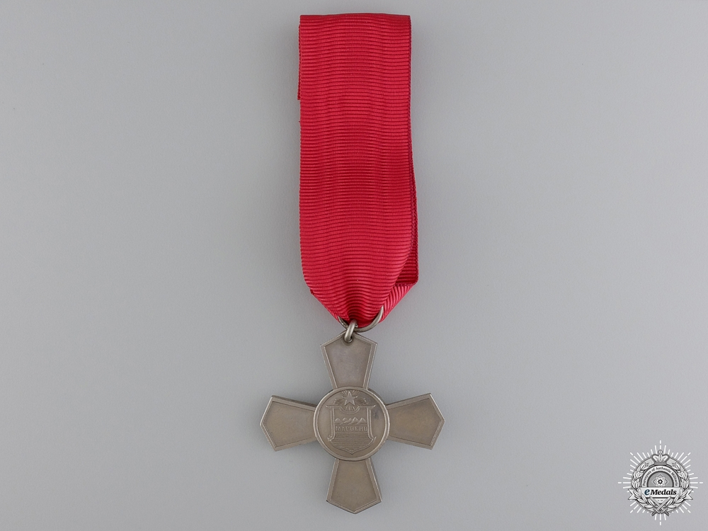 eMedals-A 1901 Chilean Santiago Cross for the First Contingent