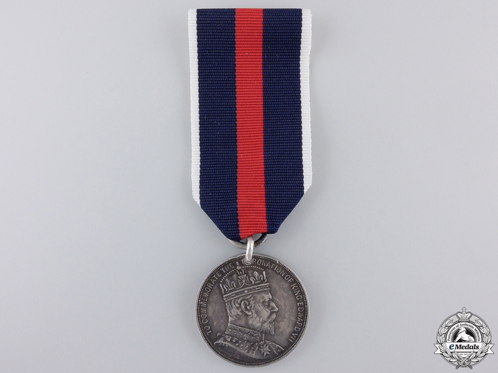 eMedals-A 1902 Edward VII Natal Coronation Medal