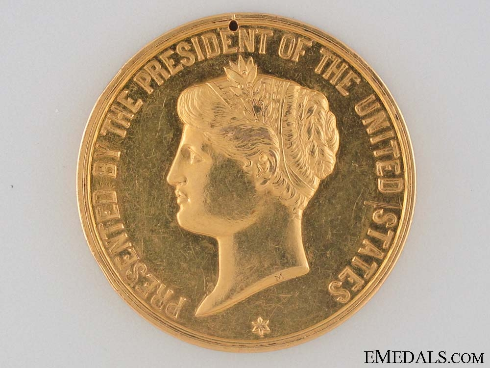 eMedals-A 1903 Gold Presidential Life Saving Medal