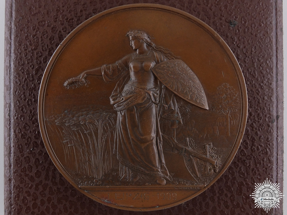 eMedals-A 1909 Germany Agricultural Society Merit Award