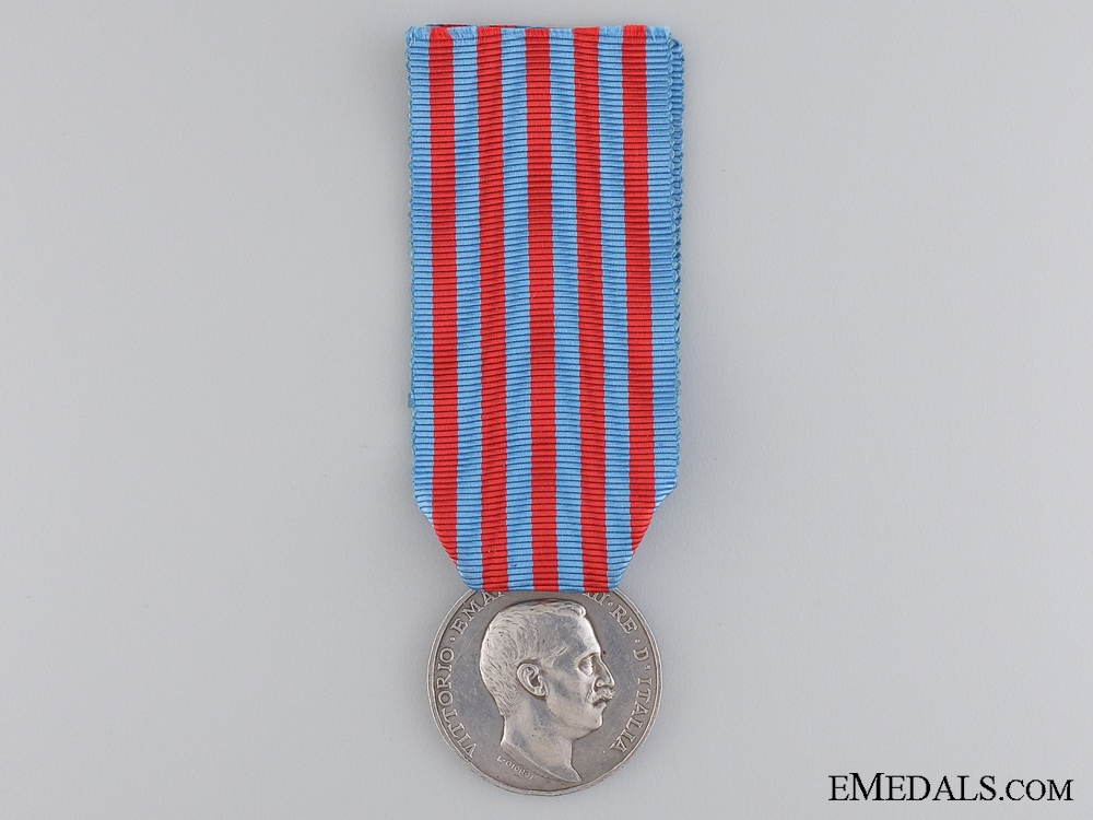eMedals-A 1911-1912 Italo-Turkish War Medal  by L.Giorgi