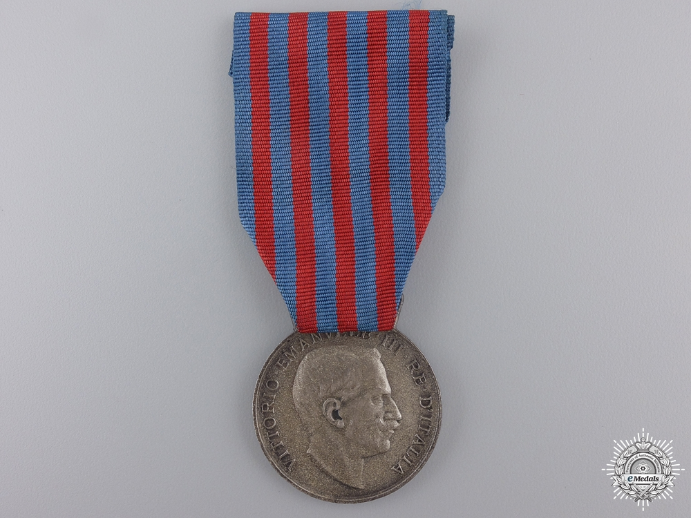 eMedals-A 1911 Italian Campaign Medal for Service in Libya