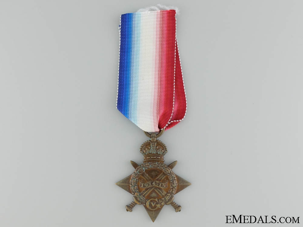 eMedals-A 1914-15 First War Star to the Rifle Brigade