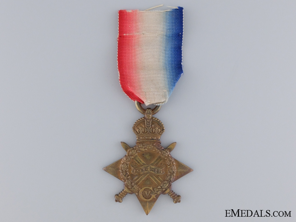 eMedals-A 1914-15 Star to the Rifle Brigade
