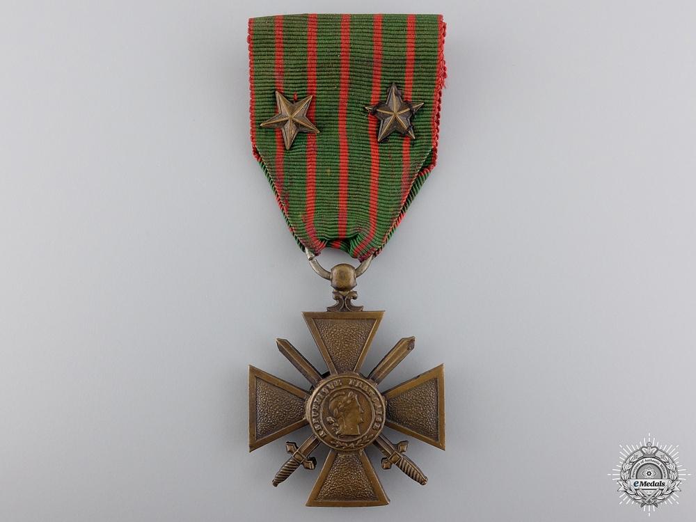 eMedals-A First War 1914-18 French War Cross