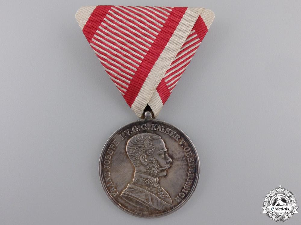 eMedals-A 1914-1916 Austrian Bravery Medal; Silver Grade 1st Class