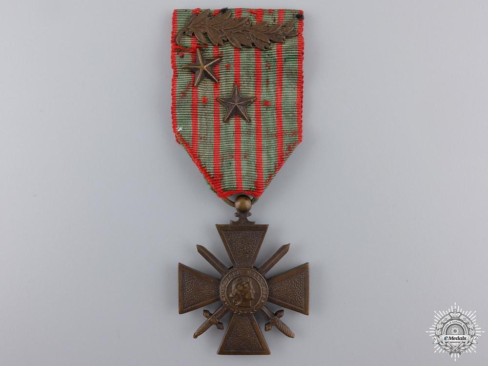 eMedals-A 1914-1918 French War Cross