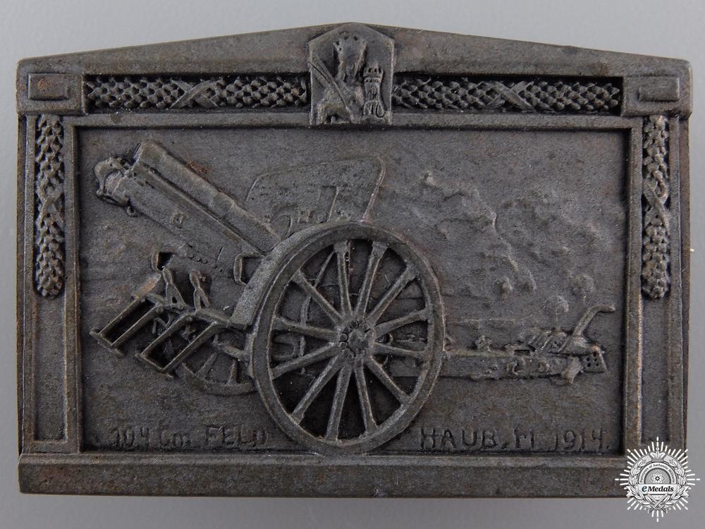 eMedals-A 1914 Austrian Field Artillery Badge