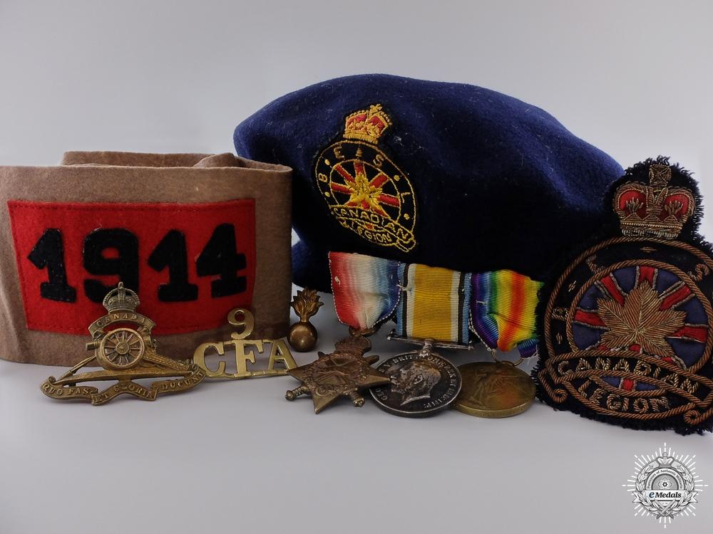 eMedals-A 1914 First War Canadian Field Artillery Veterans Group