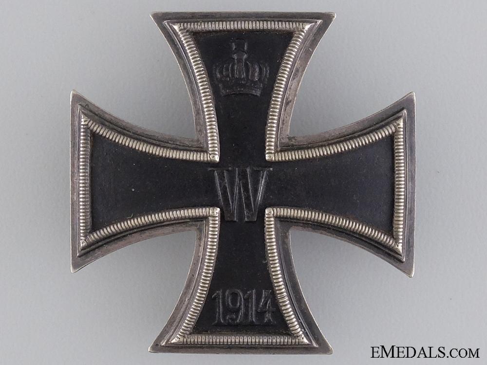 eMedals-A 1914 Iron Cross First Class; Marked