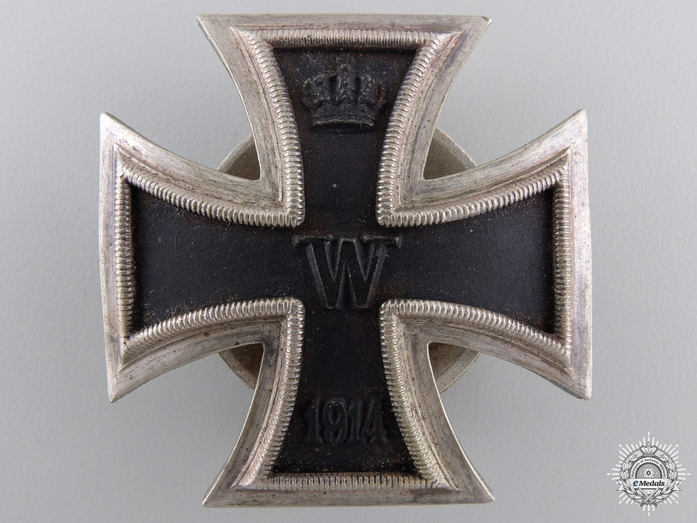 eMedals-A 1914 Iron Cross First Class; 3rd Reich Production