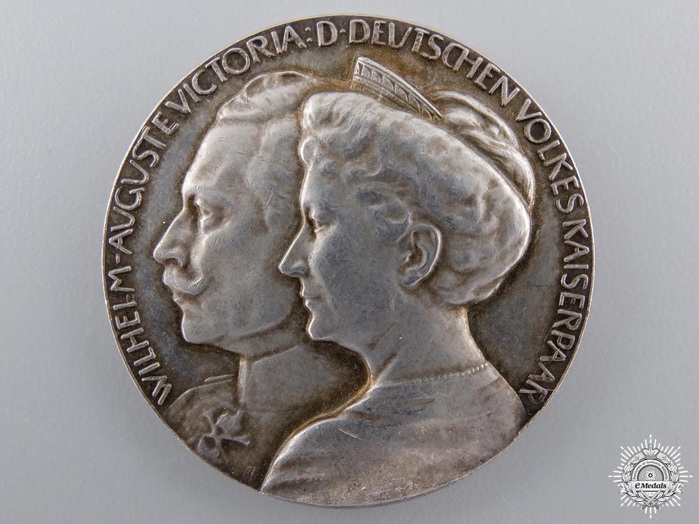 eMedals-A 1914 Kaiser Wilhelm II Wedding Anniversary Medal