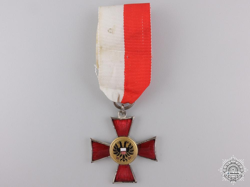 eMedals-A 1914 Lubeck Hanseatic Cross