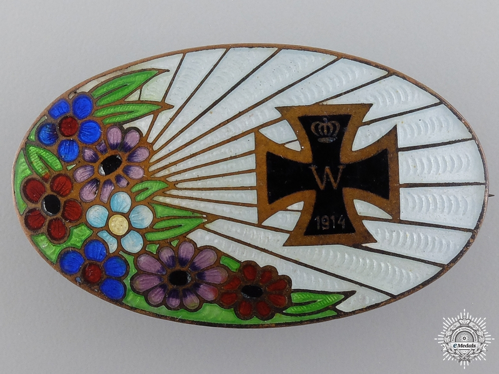 eMedals-A 1914 Patriotic Iron Cross Badge