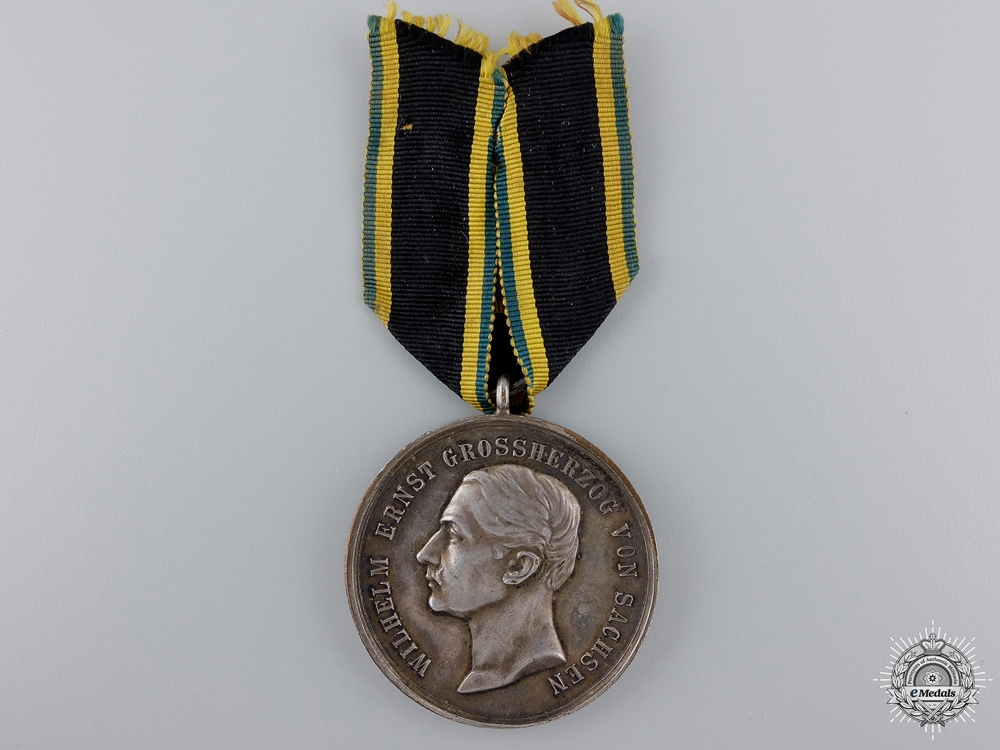eMedals-A 1914 Saxe-Weimar Silver Merit Medal