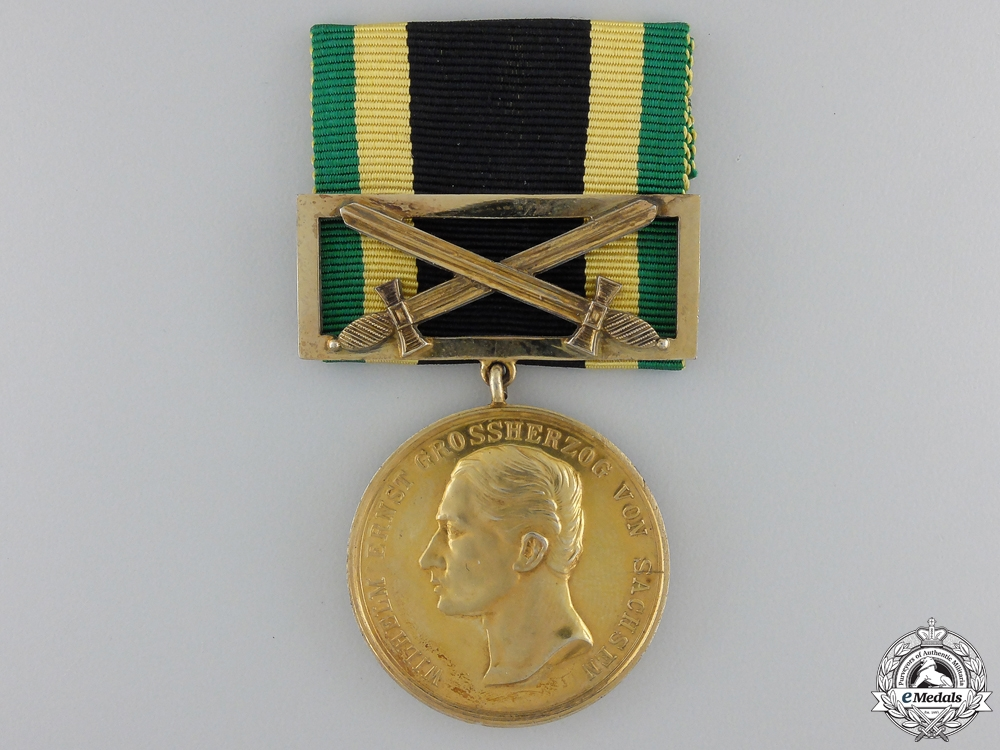 eMedals-A 1914 Saxe-Weimar General Decoration; Gold Grade