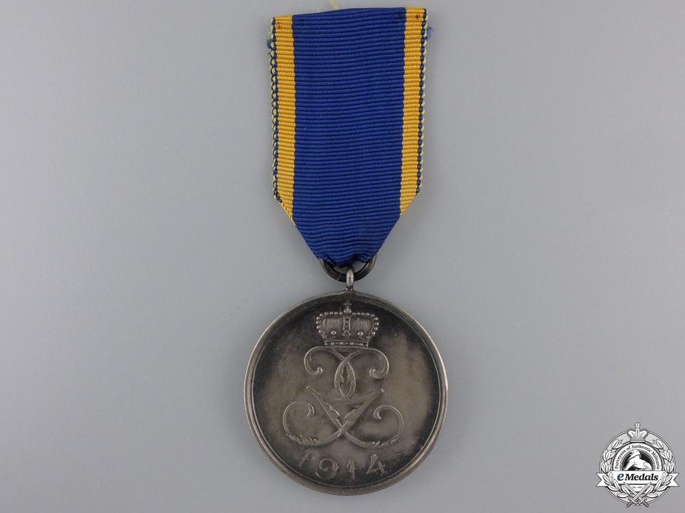 eMedals-A 1914 Schwarzburg Rudolstadt Sonderhausen War Merit Medal