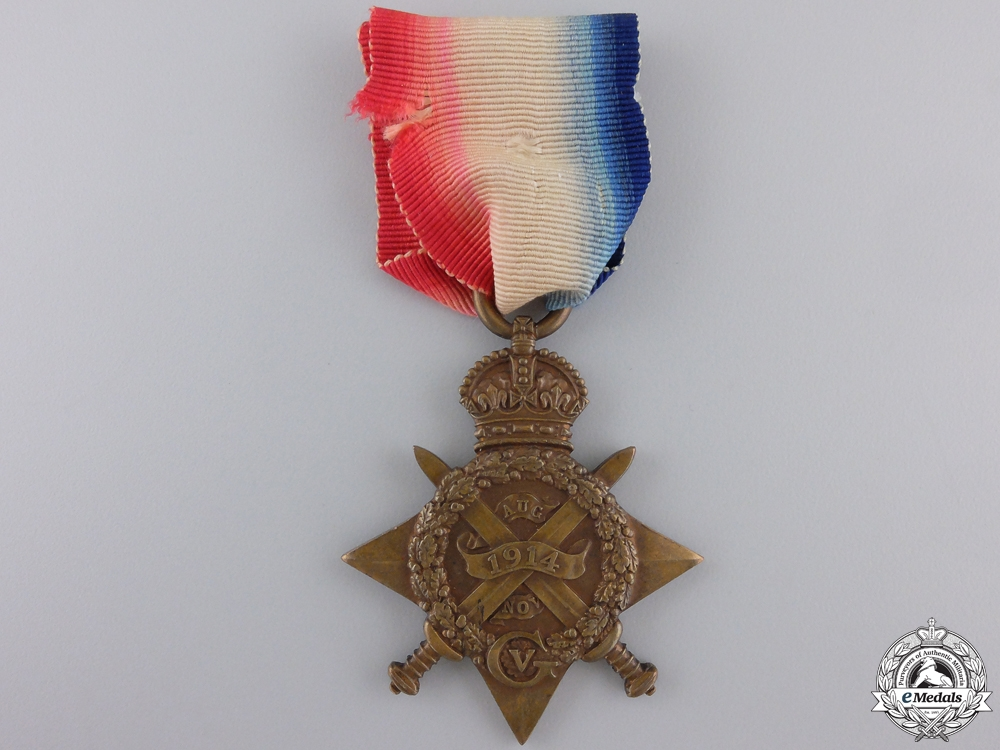 eMedals-A 1914 Star to the The Queen's (Royal West Surrey) Regiment