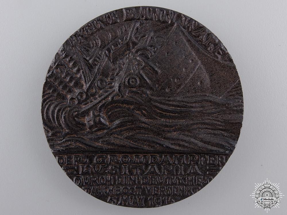 eMedals-A 1915 RMS Lusitania Propaganda Medal