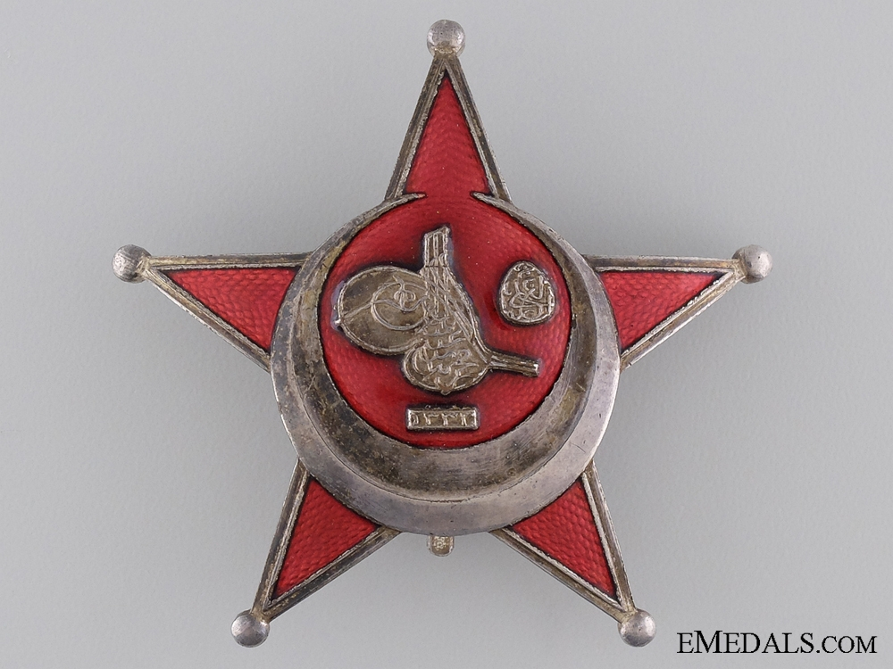 eMedals-1915 Turkish Campaign Star; Iron Crescent