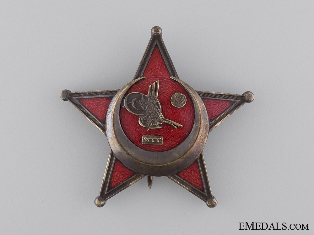 eMedals-A 1915 Turkish Campaign Star; Iron Crescent