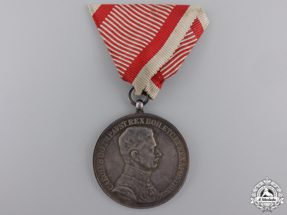 eMedals-A 1917-1918 Bravery Medal; Silver Grade 1st Class
