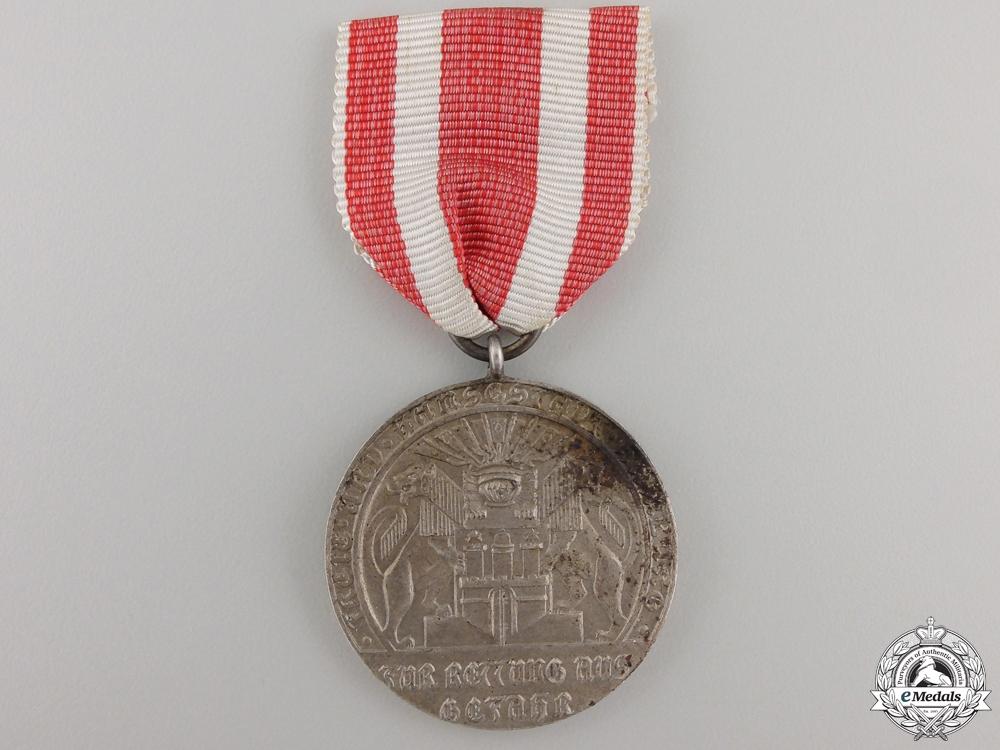 eMedals-A 1918-1934 Hamburg Life Saving Medal