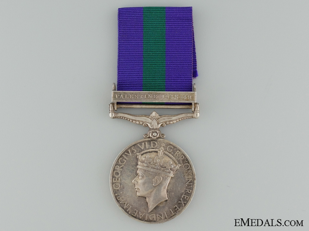 eMedals-A 1918-1962 General Service Medal to the Army Pay Corps