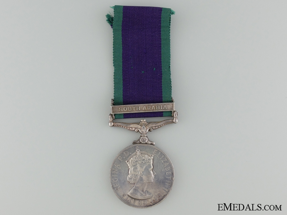 eMedals-A 1918-1962 General Service Medal to Pte J. Quinn