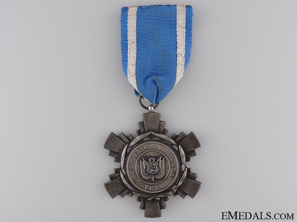 eMedals-A 1920's Peruvian Republican Guard Medal