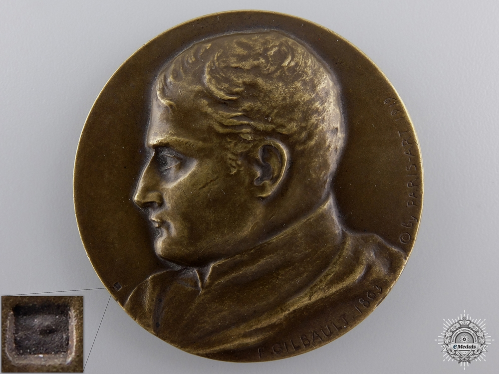 eMedals-A 1921 Centenary of the Death of Napoleon Medal