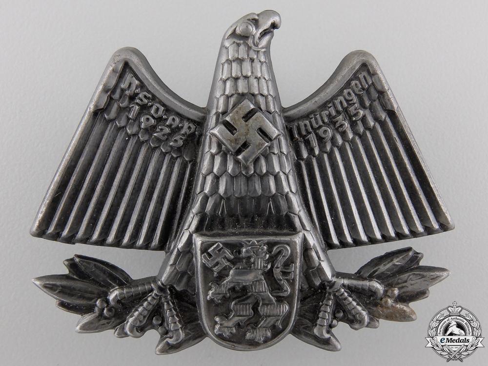 eMedals-A 1925-35 NSDAP Thuringen Commemorative Tinnie